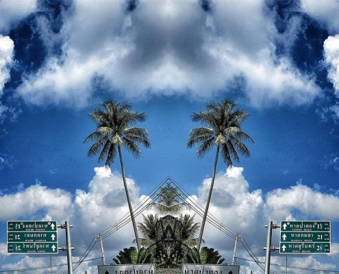 Atmosphere Cielo e Palme Alessio Cocchi