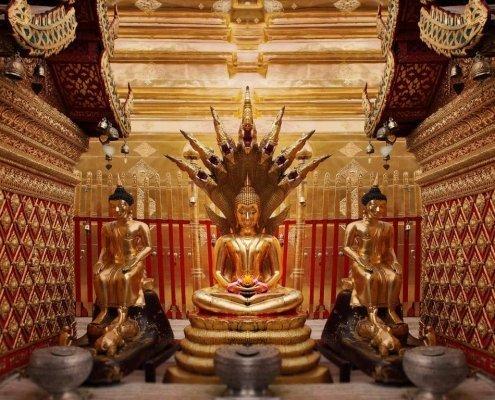 Burasari Thai Art Gold Buddha Alessio Cocchi