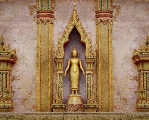 Burasari Thai Art Wat Chalong Buddha Alessio Cocchi