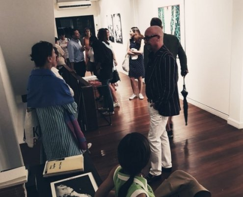 Framred Photobangkok 2018 visitors and Alessio Cocchi